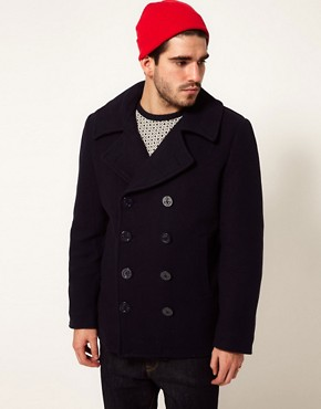 Image 1 ofAlpha Industries US Navy Peacoat