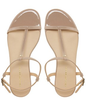 Image 3 ofKG Match Nude Flat Sandals