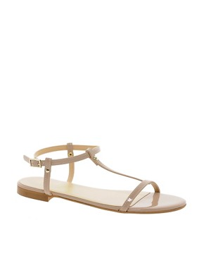 Image 1 ofKG Match Nude Flat Sandals