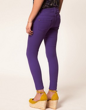 Image 2 ofA Wear Purple Skinny Jean