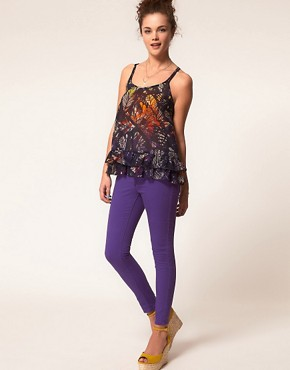 Image 4 ofA Wear Purple Skinny Jean