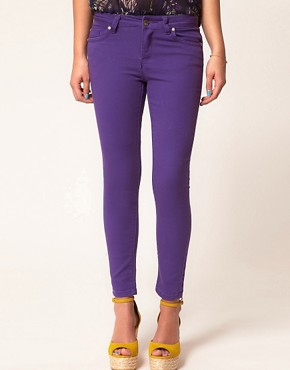Image 1 ofA Wear Purple Skinny Jean