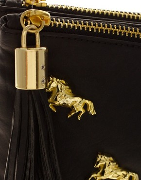 Image 2 ofASOS Multi Zip Horse Clutch