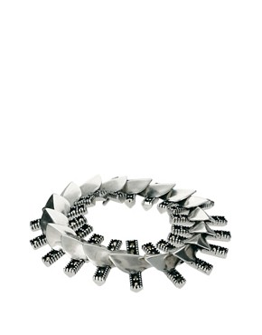 Image 1 ofGiles &amp; Brother Petal Fringe Bracelet with Pave