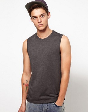 Image 1 ofASOS Sleeveless T-Shirt