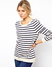 Oasis Stripe Sweat Top