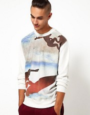 55DSL Sweatshirt Focalism Surf Crew Neck
