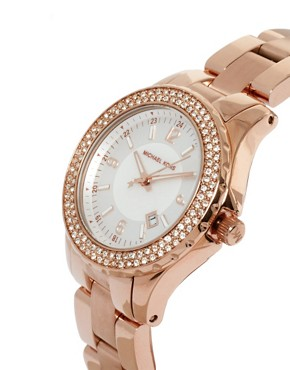 Image 2 ofMichael Kors Rose Gold Bracelet Watch