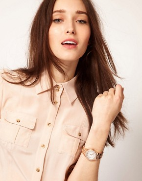 Image 3 ofMichael Kors Rose Gold Bracelet Watch