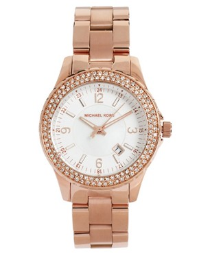 Image 1 ofMichael Kors Rose Gold Bracelet Watch