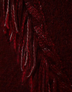 Image 3 ofDiesel Fringe Detail Jumper Dress