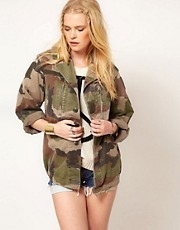 Hearts &amp; Bows Vintage Army Camo Jacket