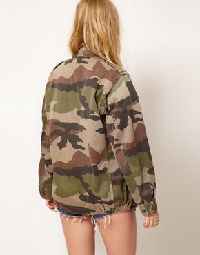 Image 2 ofHearts &amp; Bows Vintage Army Camo Jacket