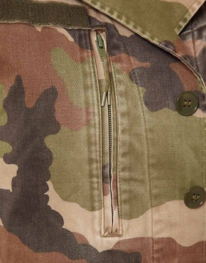 Image 3 ofHearts &amp; Bows Vintage Army Camo Jacket