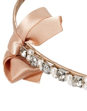 Image 3 ofJohnny Loves Rosie Pearl Detail Headband