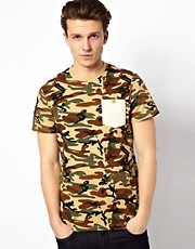Spy Camo Print T-Shirt