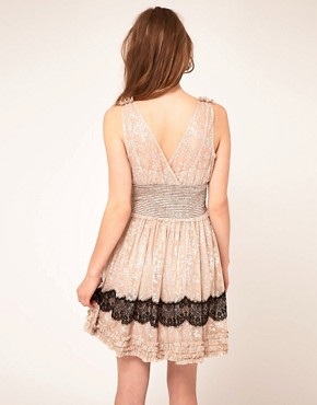 Image 2 ofFree People Lace Insert Babydoll Dress