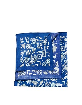 Image 1 ofASOS Bandana with Scribbles Design