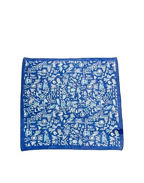 Image 2 ofASOS Bandana with Scribbles Design