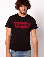 Levi&#39;s T-Shirt Batwing Logo