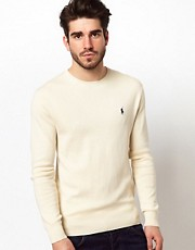 Polo Ralph Lauren Crew Jumper with Polo Player