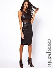 ASOS PETITE Pencil Dress With Party Fabric