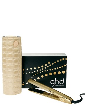 Image 1 ofghd Metallic Styler Gold