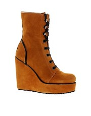 D.Co Copenhagen Suede Lace Up Boot