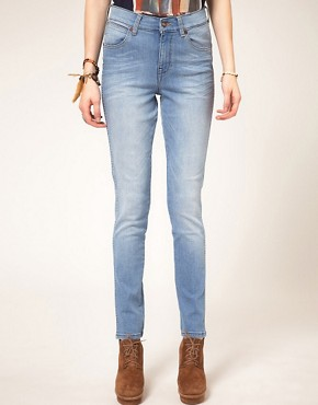 Image 1 ofWrangler Jess High Waisted Skinny Jeans