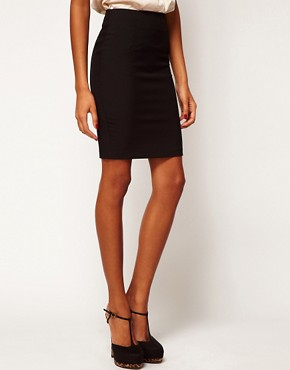 Image 4 ofASOS PETITE Pencil Skirt