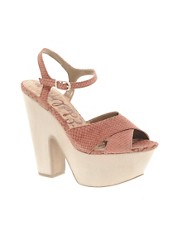 Sandalias de tacn de cuero Corbin de Sam Edelman