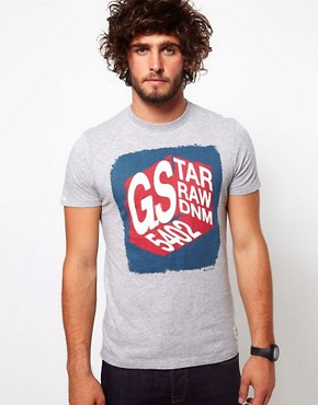 Image 1 ofG Star T Shirt With Logo