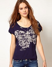 Hilfiger Denim Butterfly T-Shirt