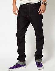 Neuw Jeans Lou Slim Fit Raw Selvegde
