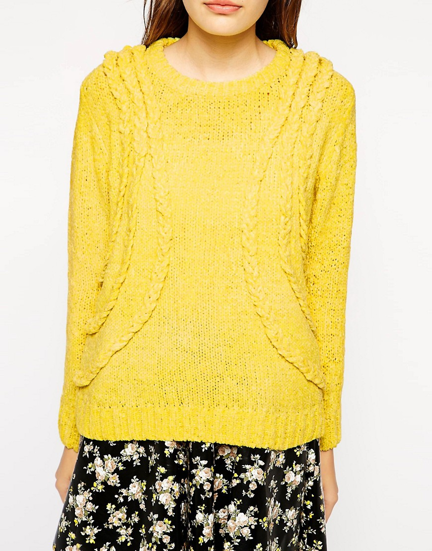 Image 3 of Dahlia Triple Plait Jumper