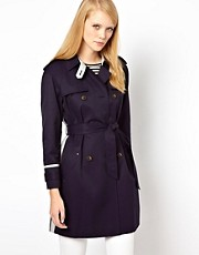 Whistles Riley Colour Block Trench