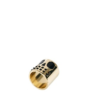 Image 1 ofLazy Oaf Skull Face Ring