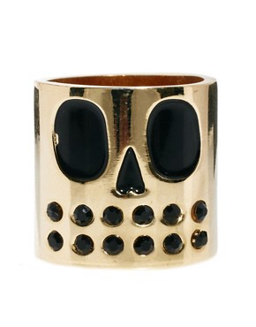Image 2 ofLazy Oaf Skull Face Ring