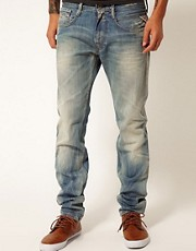 Replay Jeans Anbass Regular Slim Fit Light Sunfaded Wash