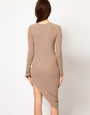 Image 2 ofJNBY Asymmetric Long Sleeve Dress