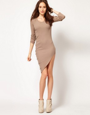 Image 4 ofJNBY Asymmetric Long Sleeve Dress