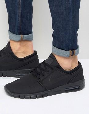 Nike Stefan Janoski Max Trainers In Black 631303-008