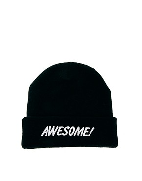 Image 4 ofLazy Oaf Awesome Beanie Hat