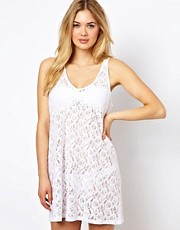ASOS Lace Trapeze Beach Dress
