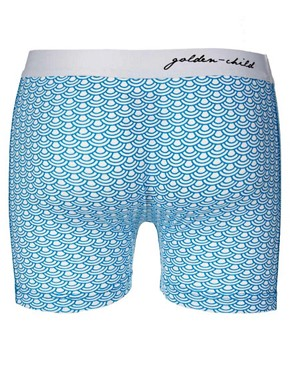 Image 2 ofGolden Child Blue Waves 2 Pack Trunks