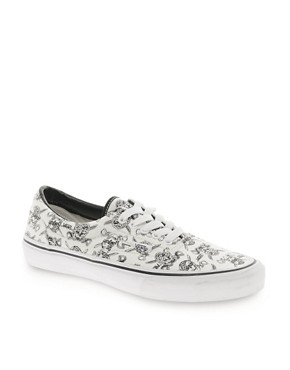 Image 1 ofVans Era Skull and Cross Lace Up Trainers