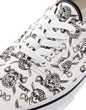 Image 2 ofVans Era Skull and Cross Lace Up Trainers