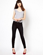 J Brand High Rise With Ankle Zips