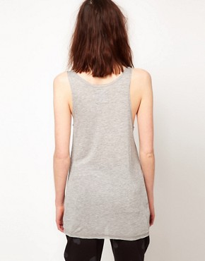 Image 2 ofZoe Karssen Dead Romance Loose Fit Tank