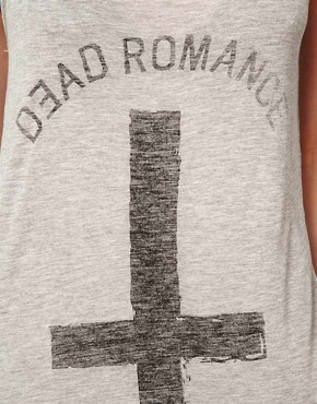 Image 3 ofZoe Karssen Dead Romance Loose Fit Tank